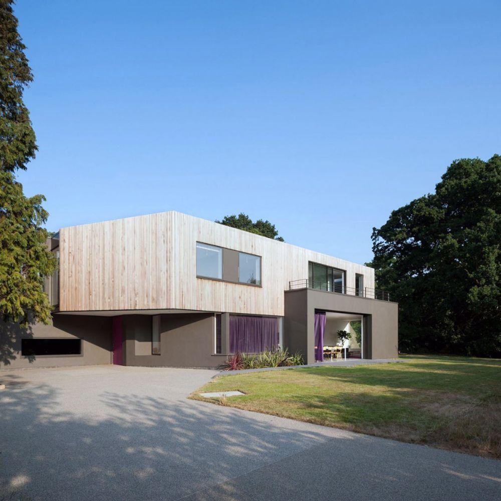 Villa Cephe Tasarımları-Modern Villalar
